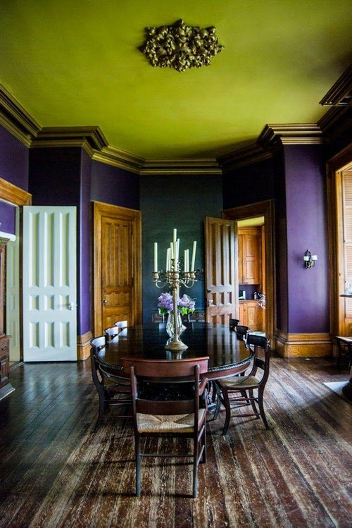 7 Reasons to Have a NonWhite Ceiling  Home Interior
