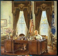 The Oval Office of the White House and Its Interiors ...