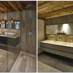 Pendant Lighting Kitchen Island Motionsense Faucet Refined Chalet Design In The French Ski Resort | Home ...
