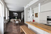 Contemporary Style in Historical Building: Bricks & Arched ...