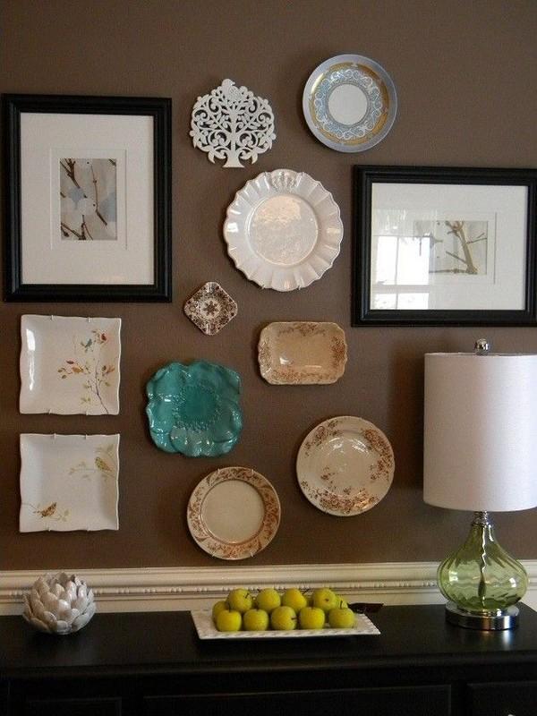Decorative Plates in Wall Dcor: 15 Inspiring Ideas