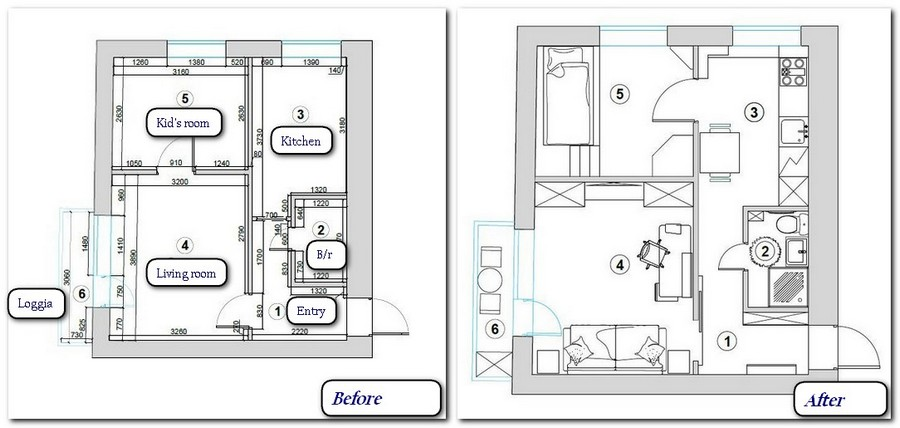 Low Cost Interior Design Of A Small Apartment Home