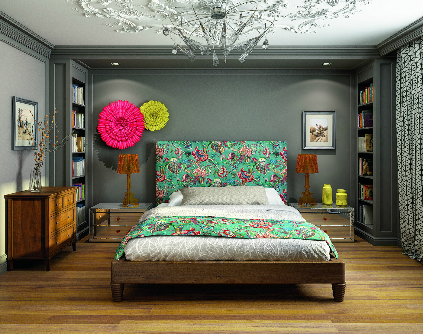 Compromise Family Bedroom Project Contemporary Classics