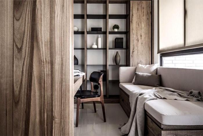 Woodscape SuperNaturalistic Apartment Interior Design