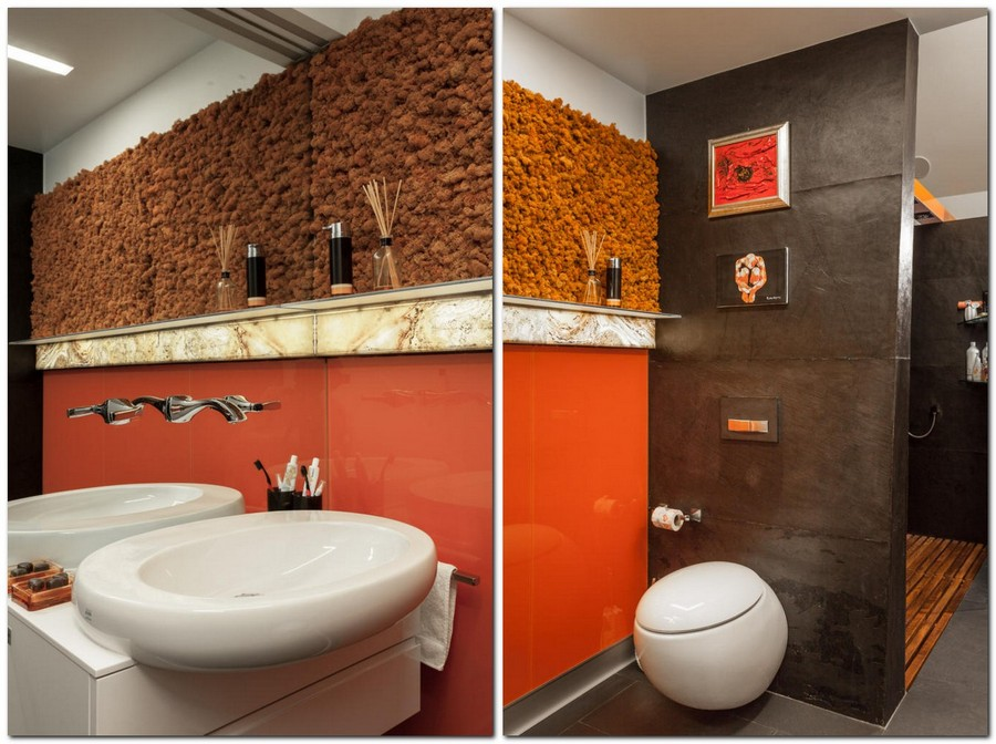 Extremely NonStandard  Creative Attic Design with Bath