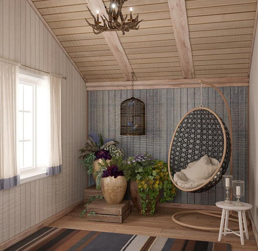 Dream Country House Interior In Scandinavian & English Style