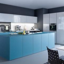 Kitchen Cabinets Set Remodeling Birmingham Al 20 Trendy Blue Sets In Interior Design Home 1 Leicht Germany
