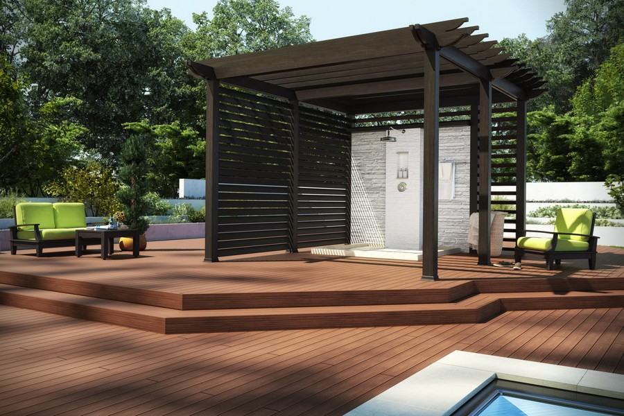 Home Design Concept Cool And Creative For Terrace With