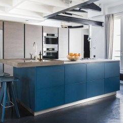 Kitchen Cabinets Set Ikea Faucet 20 Trendy Blue Sets In Interior Design Home 9 Varenna Italy