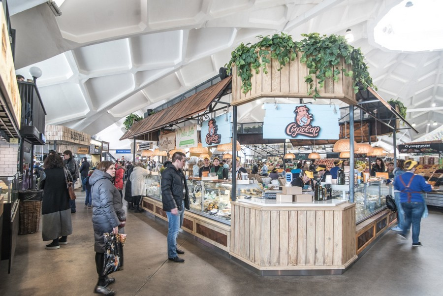 How Should a Food Market Be Designed to Attract Thousands of People  Home Interior Design