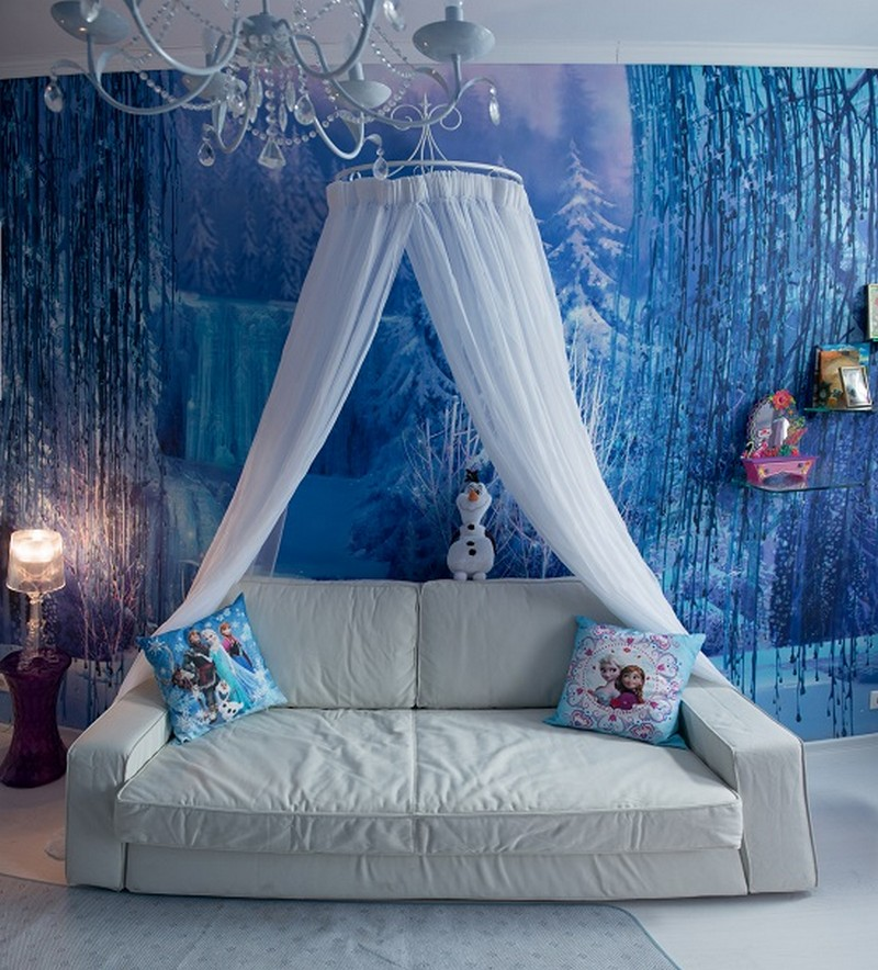 Dreams Come True Girls Bedroom Inspired by the Frozen