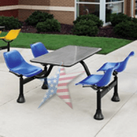 Cafeteria Tables , Stylish Sanitary, 888-661-0845 ...