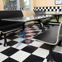 Lunch Room Chairs Baby Chair Cover Malaysia Cafeteria Bench Seating, 888-661-0845