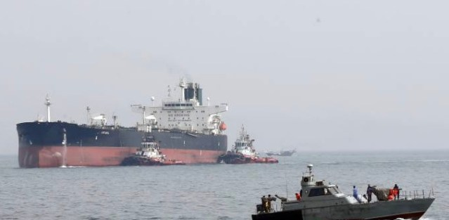 Iranian Forces Seize Oil Tanker and Crew