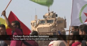 Turkish Forces begin operation into Syria