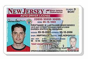 New Jersey Launches Sophisticated New Driver's License