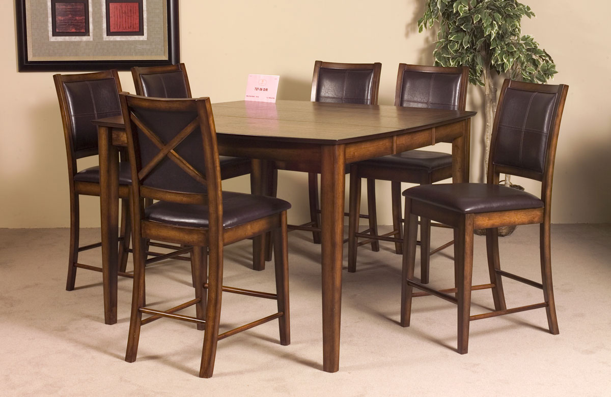 Homelegance Verona Counter Height Table With Leaf 727-36