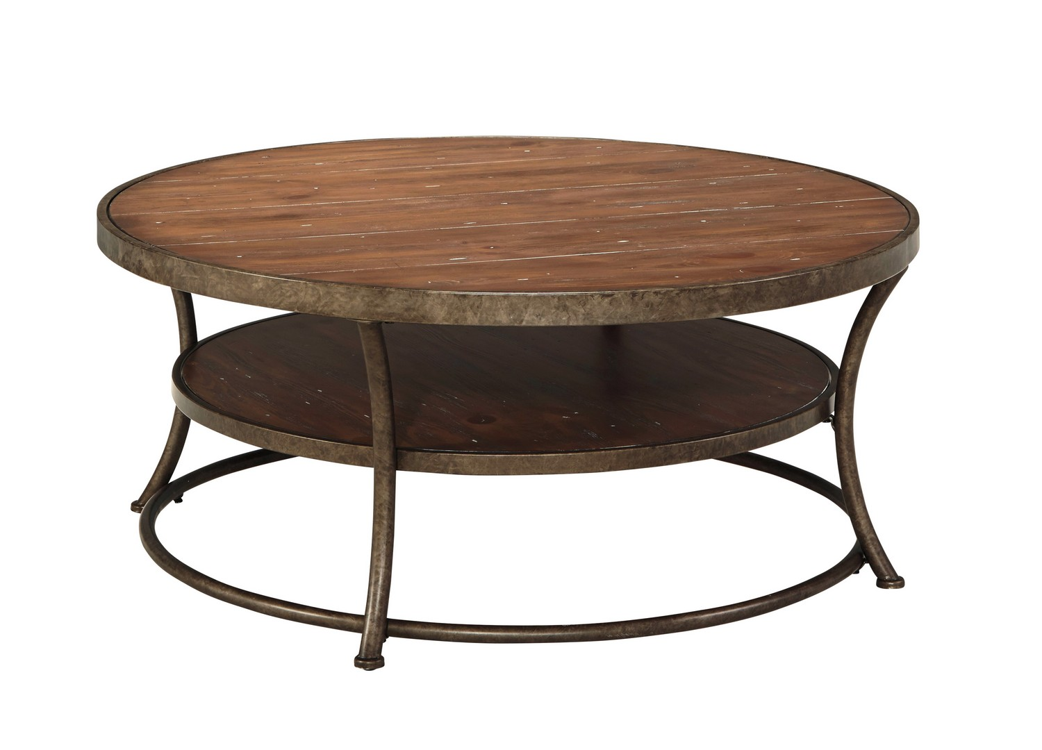 Ashley Nartina Round Cocktail Table ASHLEY-T805-8 At