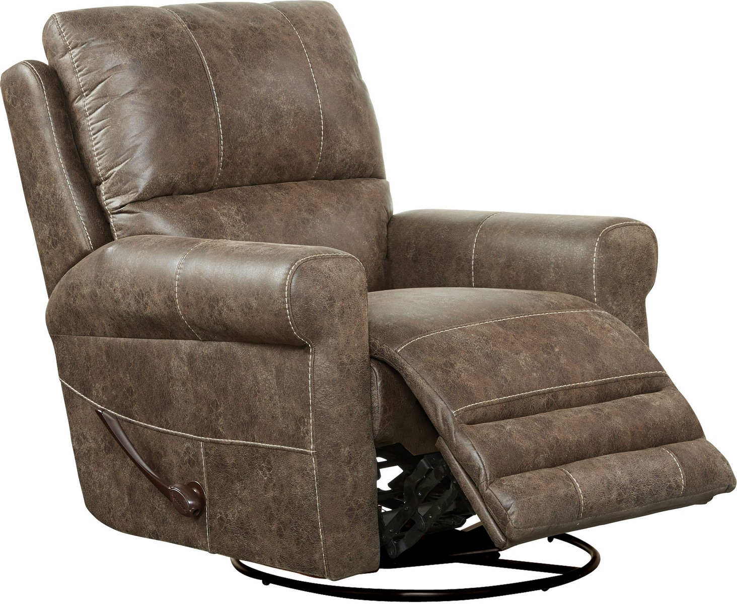 Catnapper Chair Catnapper Maddie Swivel Glider Recliner Ash Cn 4753 5