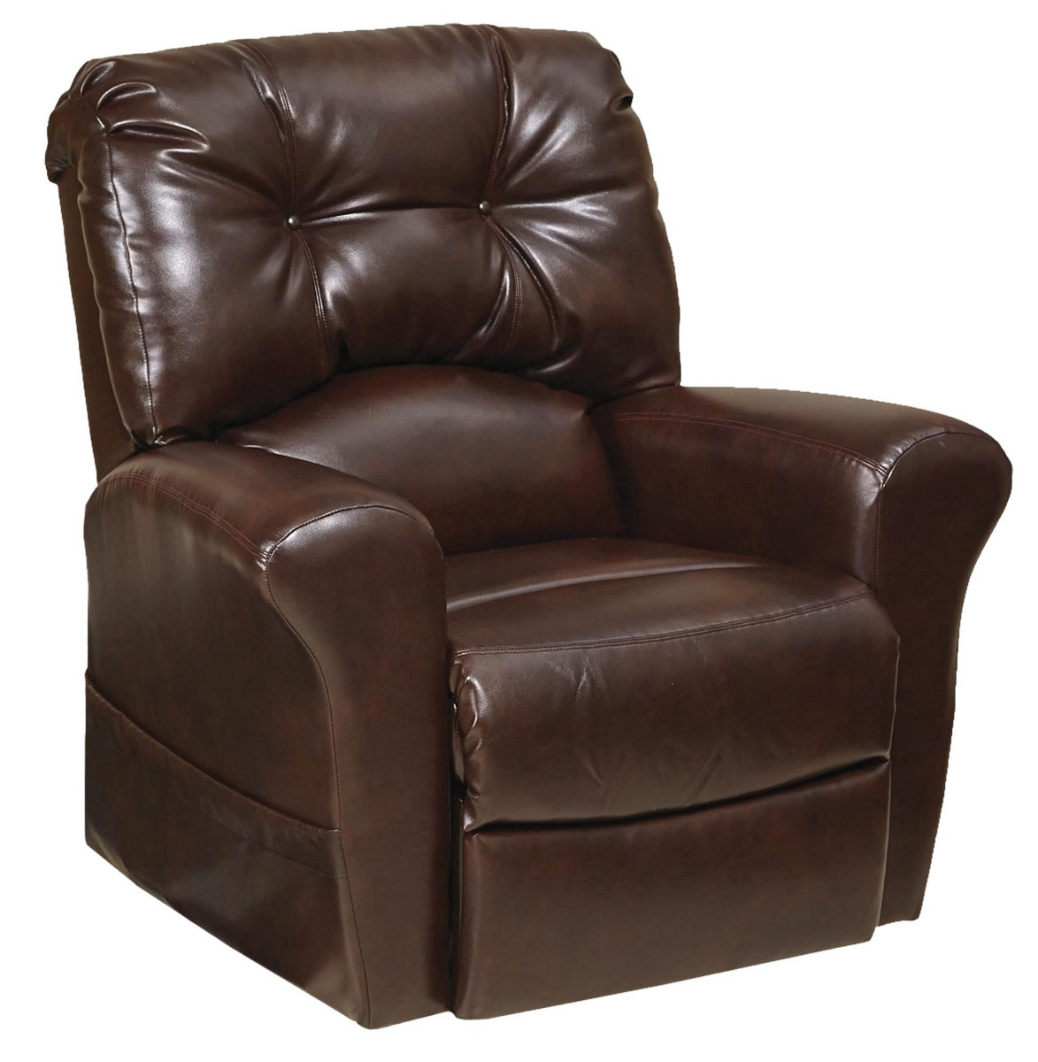 Catnapper Chair Catnapper Landon Power Lift Lay Flat Recliner Java Cn