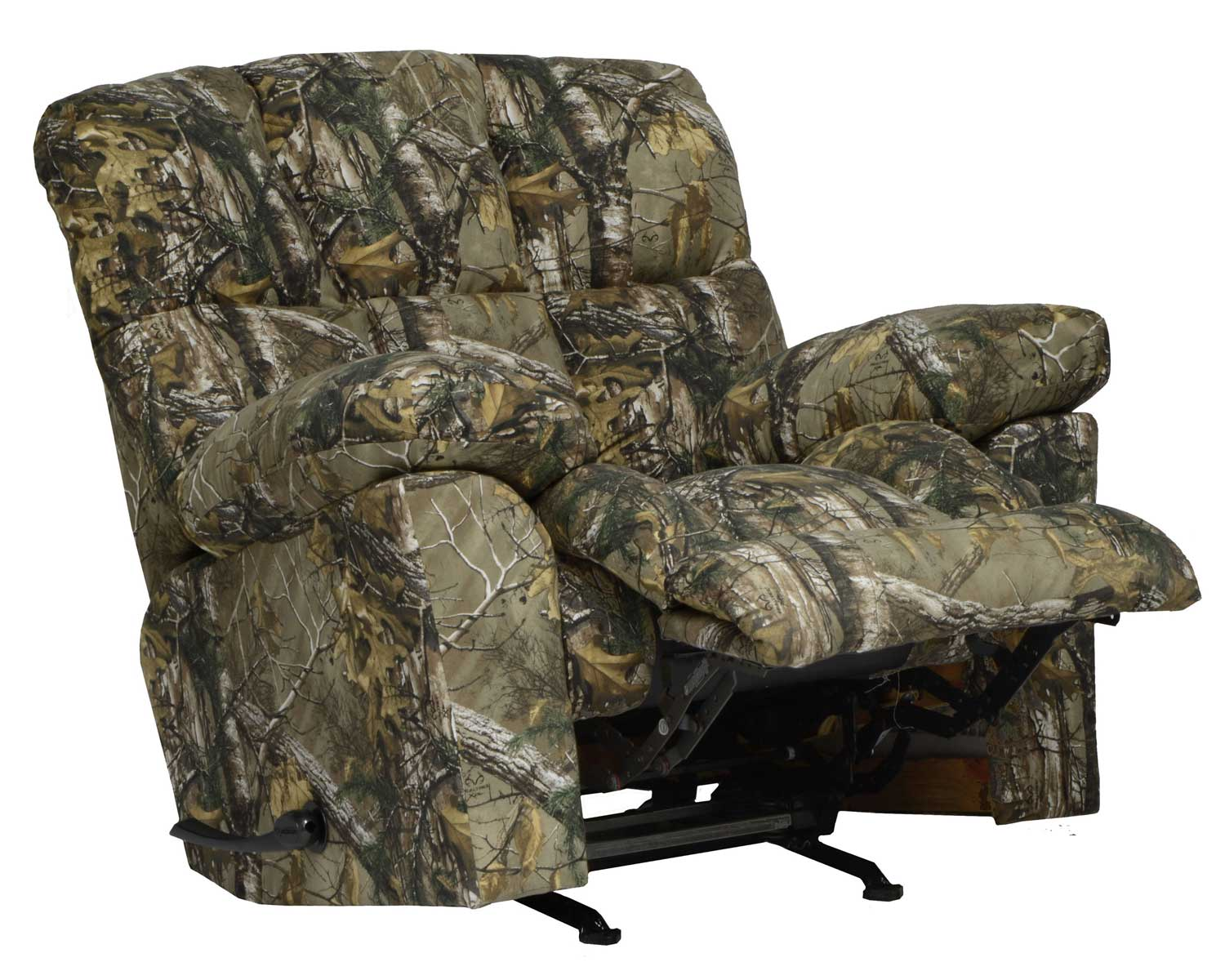 Realtree Chair Catnapper Duck Dynasty Chimney Rock Lay Flat Recliner