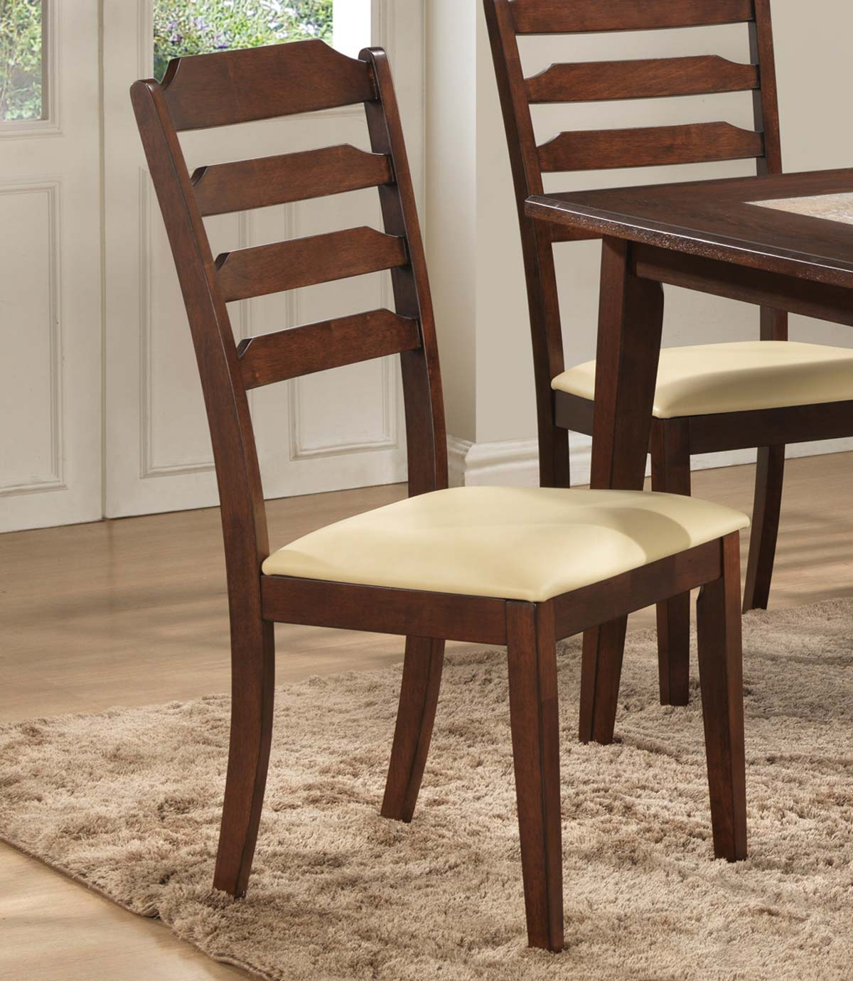 Baker Dining Chairs Coaster Baker Side Chair Warm Brown 102842 At Homelement