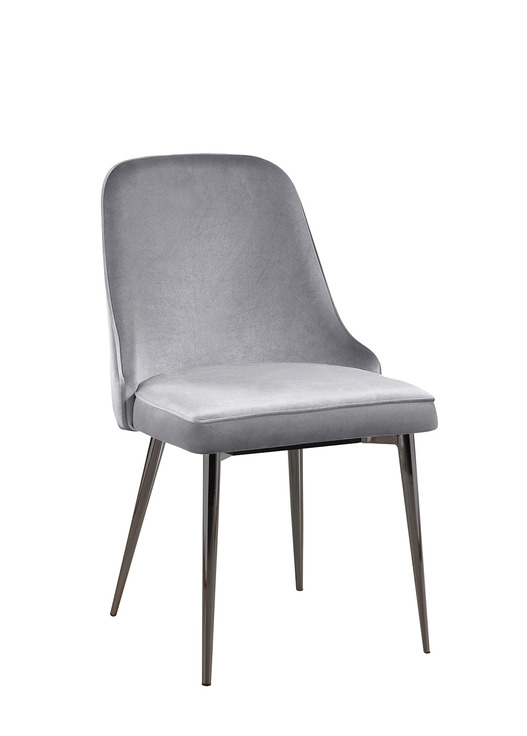 Grey Side Chair Coaster Inslee Side Chair Grey 107953 At Homelement