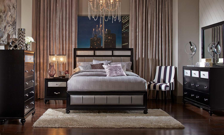 Coaster Barzini Upholstered Bedroom Set