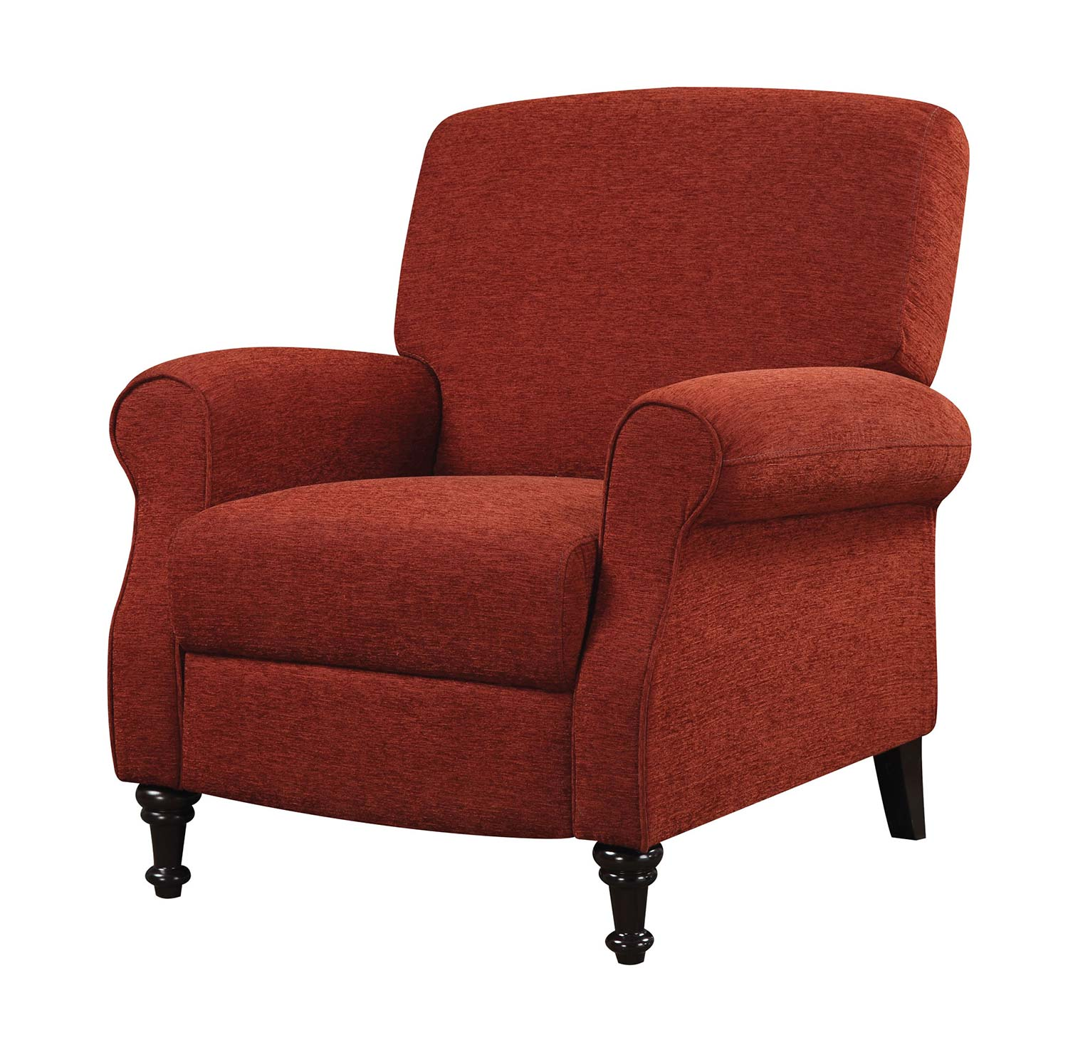 Push Back Chair Coaster 600326 Push Back Recliner Wine Red 600326 At