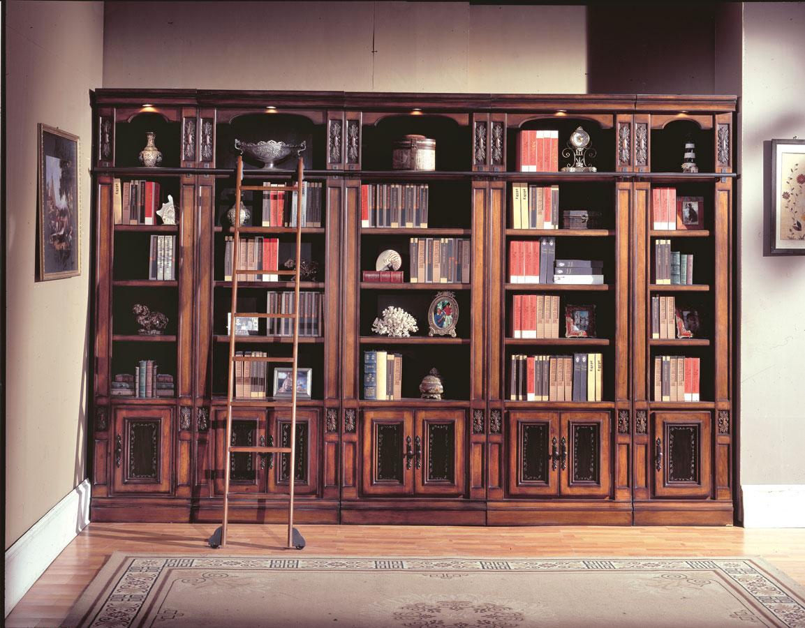 Parker House Davinci Library Bookcases Phdav4204306 At