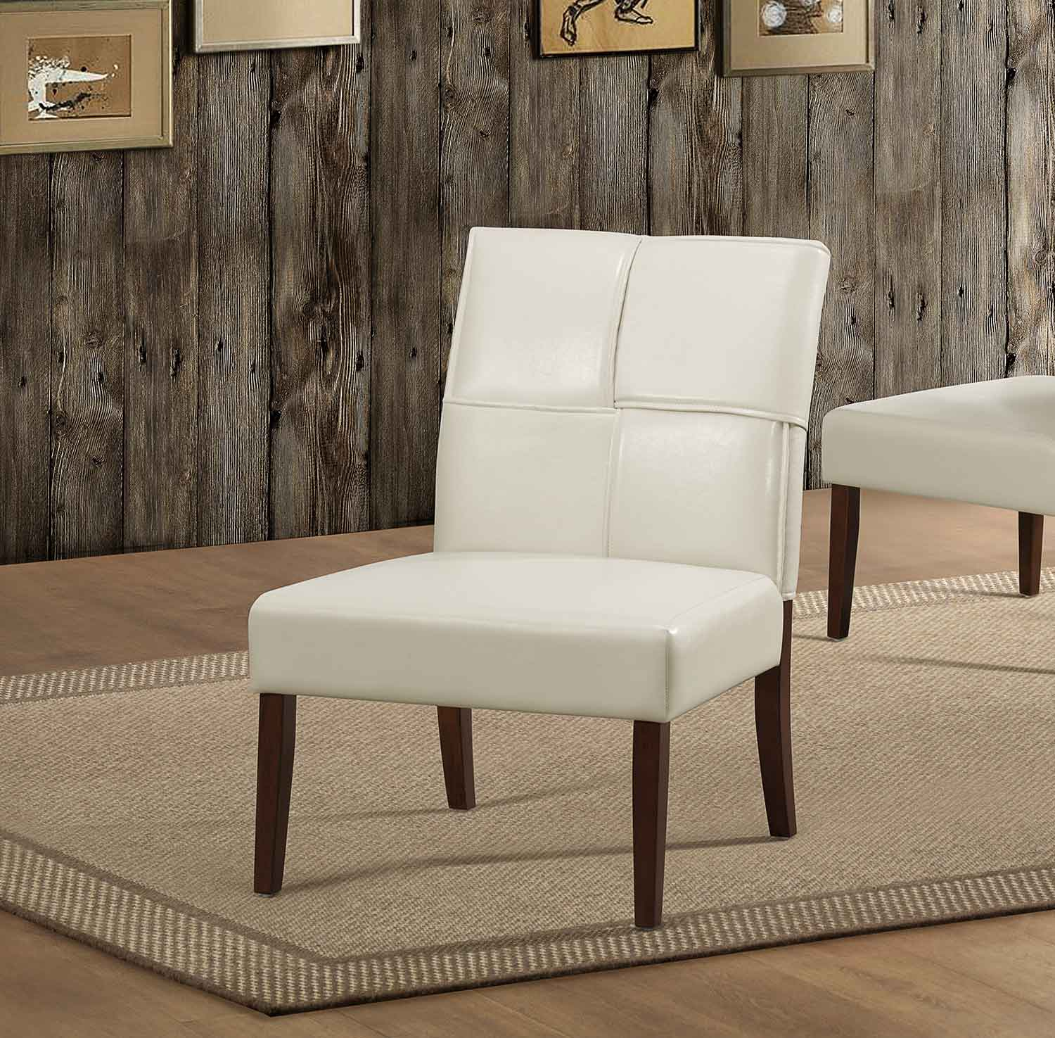 Cream Accent Chair Homelegance Oriana Accent Chair Cream 1215crs At