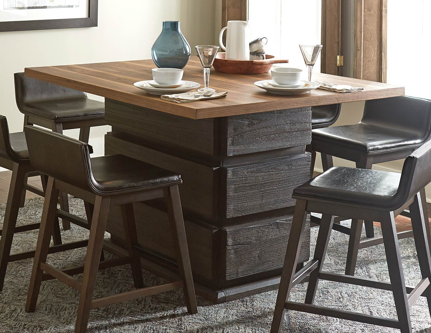 Homelegance Rochelle Counter Height Dining Table