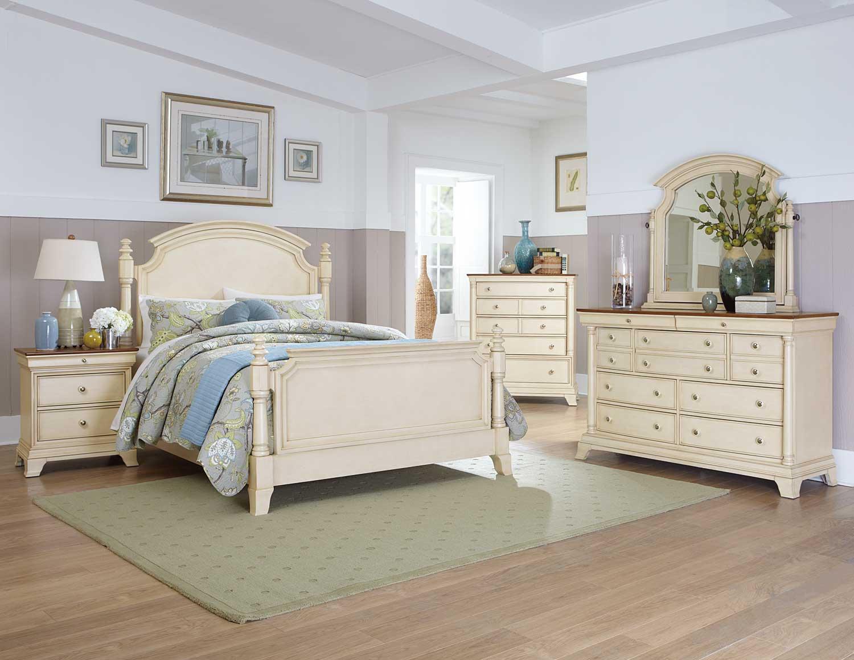 Homelegance Inglewood Ii Bedroom Set  White B1402wbed
