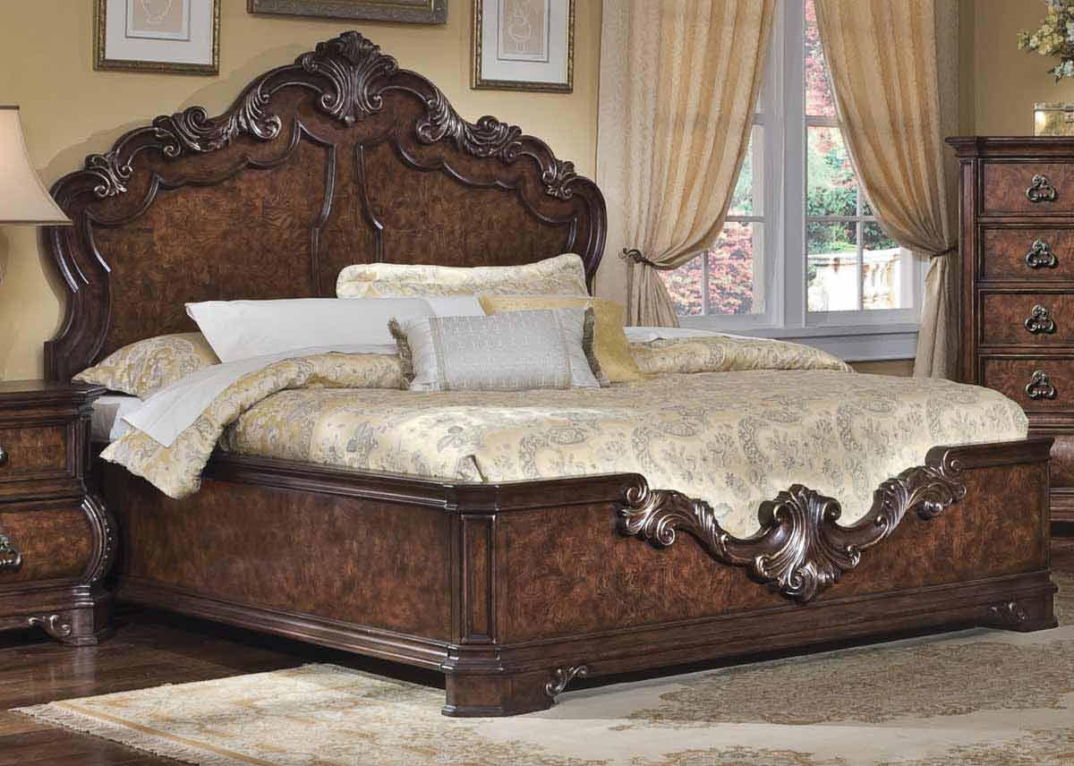 Pulaski Wellington Manor Panel Bed Pf96217087 At