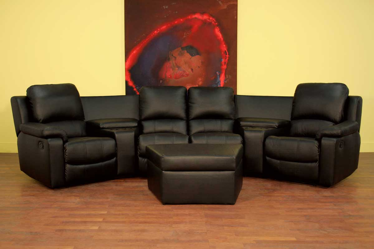 Movie Chairs For Home Theaters Wholesale Interiors 8802 Home Theater Seat Curved Row 8802