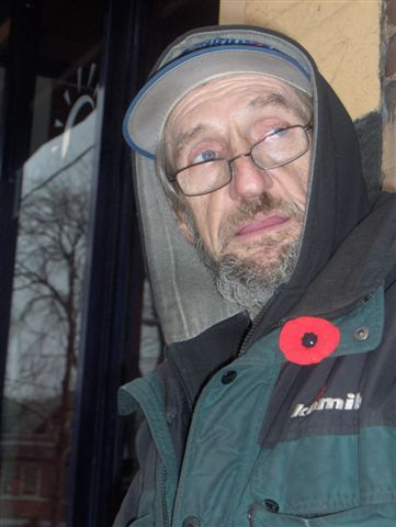 Tony on Remembrance Day
