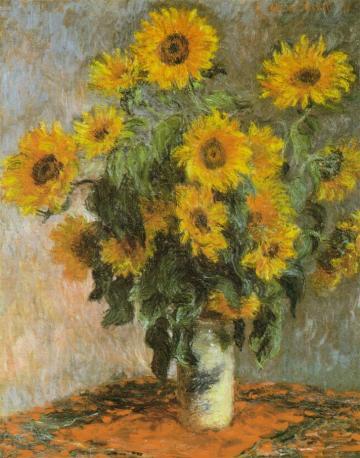 Monet'ssunflowers