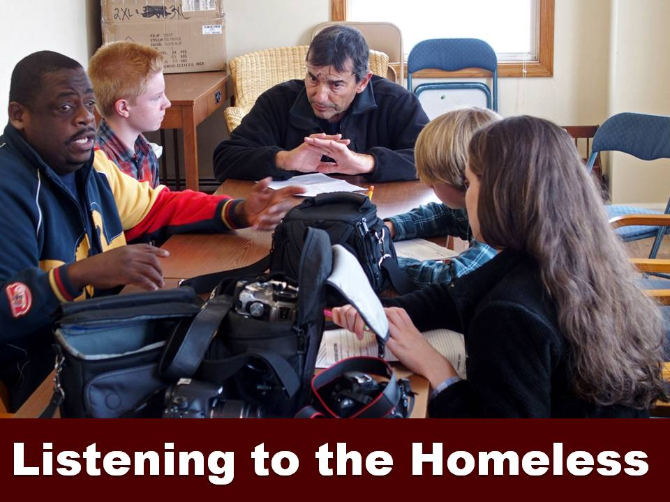 Listening to the Homeless