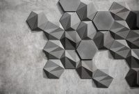 San: Geometric Concrete Wall Decoration by Bentu Design ...