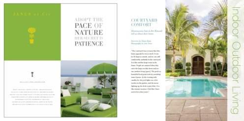 Orchid Island Courtyard Homes, Vero Beach Courtyard Homes, Jill Shevlin Design, Home Life & Design, Courtyard Living