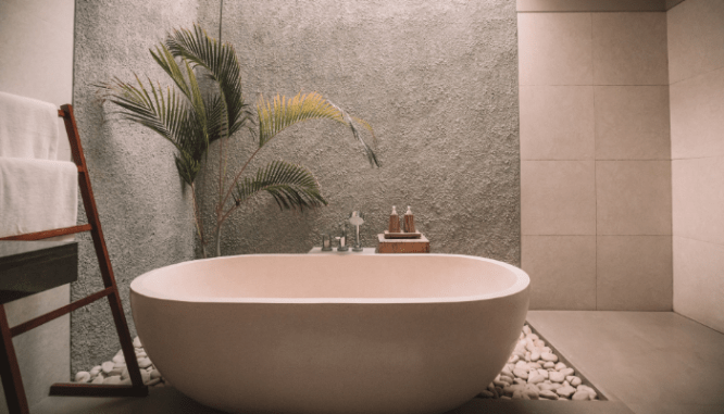 Design a spa bathroom when ready to sell house fast in Reno