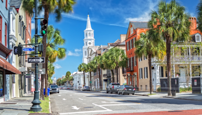 List your home in April to sell house fast in Charleston