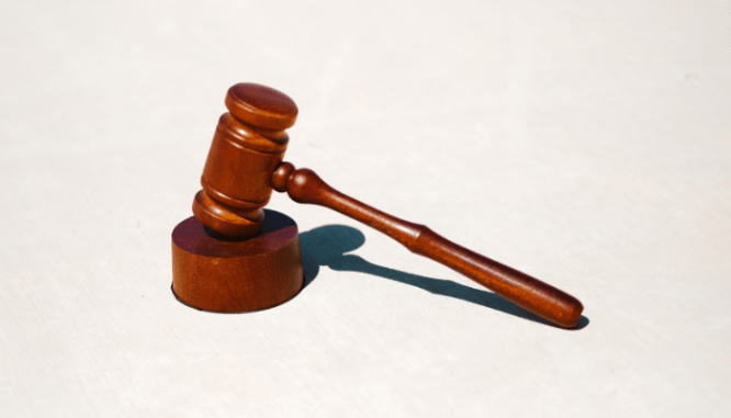 A gavel used by an attorney who reviews closing costs.