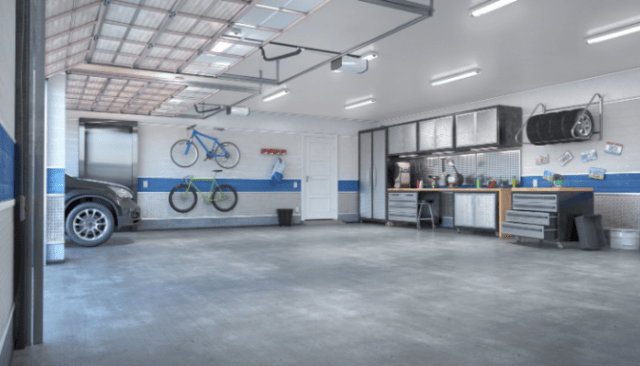 Break down the cost to expand garage