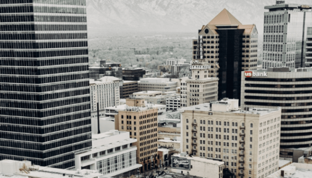Downtown Salt Lake City, where you can sell a house fast.