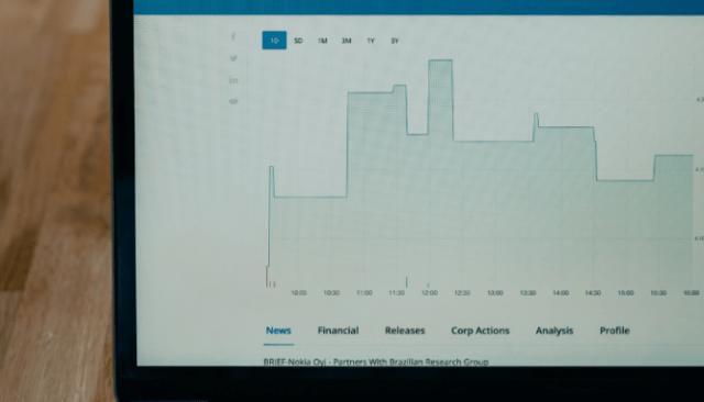 A graph of a seller's market.