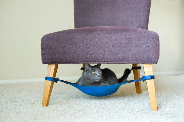 Cute Hammock for Pets by Cat Crib 2