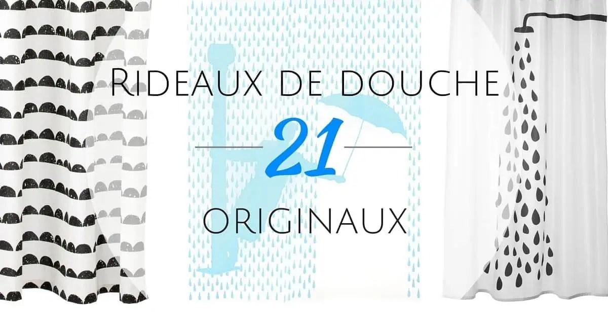 Rideau De Douche Original  21 Rideaux Que Vous Allez Adorer