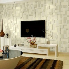 Amazing Living Room Wallpaper Art For Wall 3d 15 Amazingly Realistic Ideas Home Loof Contemporary Designs
