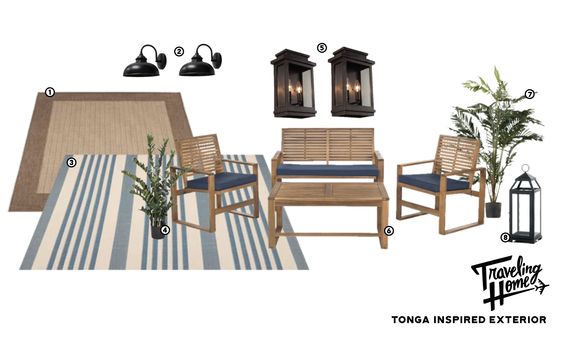 Shop Traveling Home Episode 7: Tonga Inspired Exterior